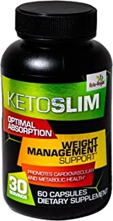 Ketoveyda KetoSlim Optimal Absorption Weight Management Support with Garcinia Cambogia and Green Tea Extract Dietary Suppl...