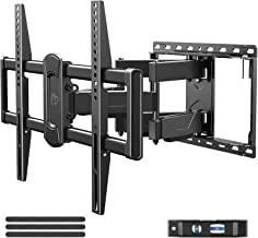 Mounting Dream Full Motion TV Wall Mount Swivel and Tilt for 42-75 Inch Flat Screen TVs, TV Mounts Bracket with Articulati...