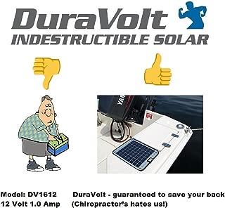 NOW 20 Watt 1.0 Amp - Solar Battery Charger - Boat, RV, Marine & Trolling Motor Solar Panel - 12 Volt - No experience Plug & Play Design. Dimensions 14.1
