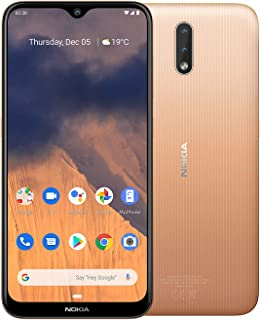 Nokia 2.3 Android One Smartphone (Official Australian Version) Unlocked Mobile Phone with 2-Day Battery, AI Dual-Cameras, ...