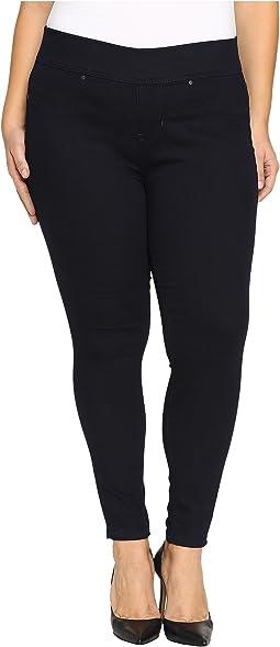Jag Jeans Plus Size - Plus Size Marla Pull On Legging in Indigo Rinse Legging Denim