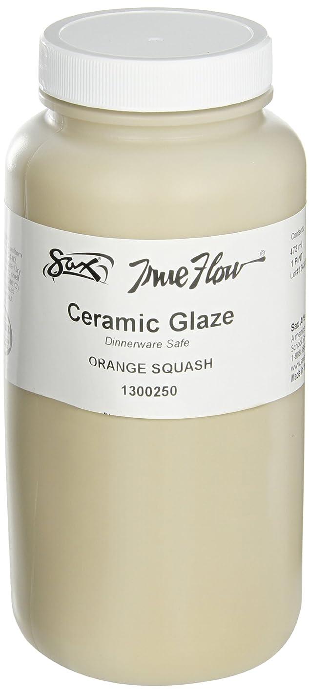 Sax True Flow Gloss Glaze, Orange Squash, 1 Pint pivlphisylk412