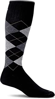 Sockwell Men's Argyle Moderate Graduated Compression Sock