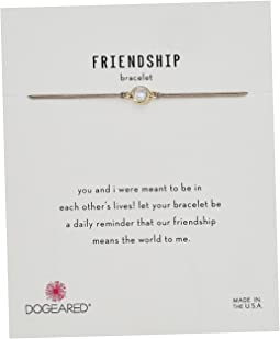 Friendship Bracelet, Crystal On Cord