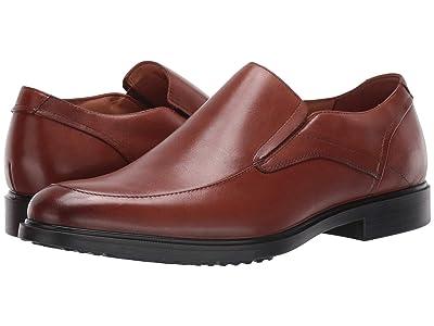 Hush Puppies Turner MT Slip-On (Cognac Waterproof Leather) Men