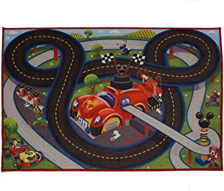 Disney Mickey Mouse Toys Rug Roadster Racer 2017 HD Ed. MMCH Clubhouse Game Rugs 32x44