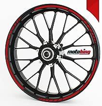Motorking GP Dise/ño de 12/piezas set completo/ /Finest Folia apta para 17/pulgadas y 16/18 19/Llantas Auto Moto o Bicicleta