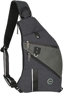 JOCHUI Sling Bag, Water Resistant Sling Backpack Crossbody Bags for Women Men Chest Pack Travel Dog Walking