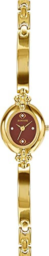 Sonata Analog Gold Dial Women's Watch NM8093YM02/NN8093YM02