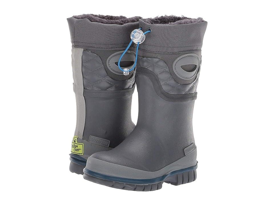Western Chief Kids Winterprene Boots (Toddler/Little Kid/Big Kid) (Charcoal) Girls Shoes