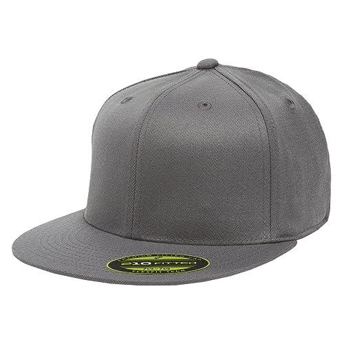 d3a5e7ce4ed761 Flexfit Premium 210 Fitted Flat Brim Baseball Hat