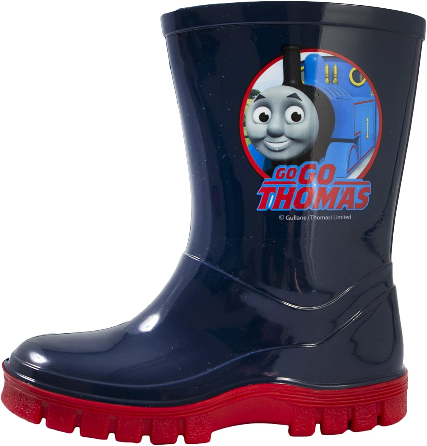 Boys Thomas and Friends Wellies Max 47% OFF Wellington Blue Sizes Boots Year-end gift UK C