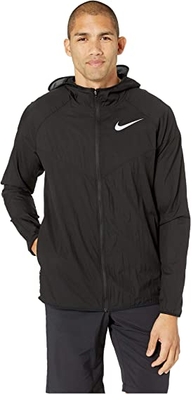 ed8b2d7f20 Nike Essential Hooded Running Jacket at Zappos.com