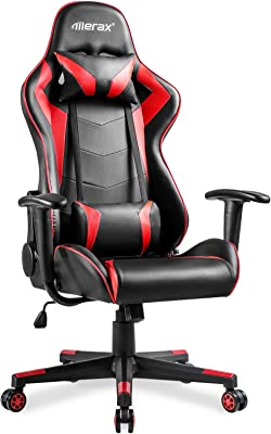 Amazon.com: Ficmax Massage Gaming Chair Ergonomic Computer ...