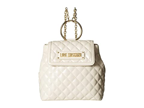 LOVE Moschino Shinny Quilted Backpack