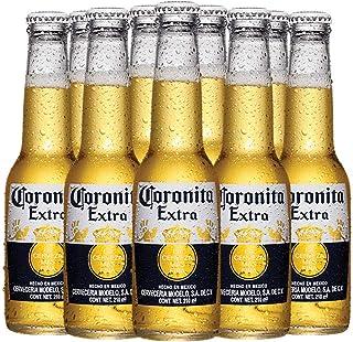 Cerveza Clara, Coronita Extra, 24 piezas de 210 ml c/u