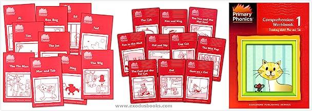 Primary Phonics Skills Set 1: short a, e, i, o, u (3 Books) - Primary Phonics 1 Set of 10 Storybooks, More Primary Phonics...
