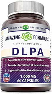Amazing Formulas DLPA 1000 Mg 60 Capsules (Non-GMO,Gluten Free) Supports Healthy Nervous System* Promotes Formation of Neu...