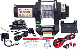 MegaFlint 3500LB ATV Winch UTV 12V Electric 3500 LB//1591kg Off Road Kit A.. New
