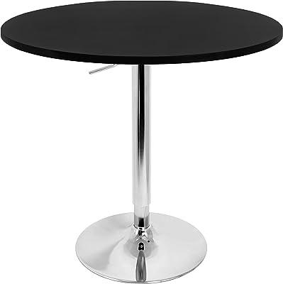 Amazon.com: Furmax Bistro Pub Table Round Bar Height
