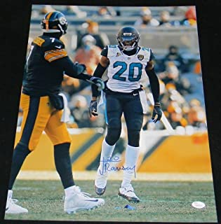 Signed Jalen Ramsey Photo - VS STEELERS 16x20 - JSA Certified - Autographed NFL Photos