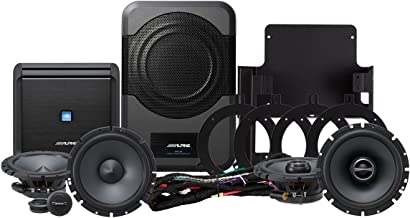 Alpine Electronics PSS-20WRA Direct Fit for 2007-2014 Jeep Wrangler Unlimited Without The Factory Upgraded Sound System