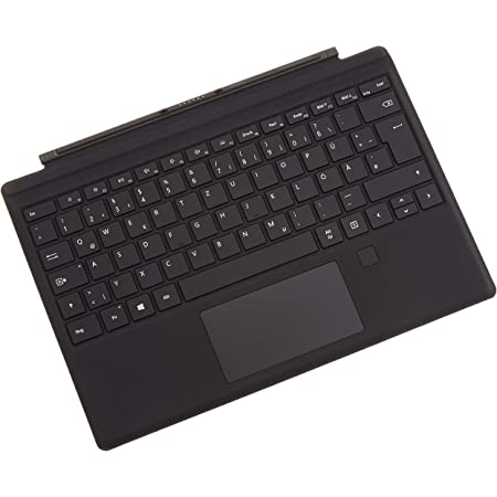 Microsoft Surface Pro Type Cover Mit Fingerprint Id Computer Zubehör