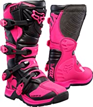 2018 Fox Racing Youth Comp 5 Boots-Black/Pink-Y8