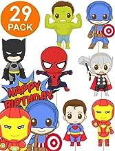 Best free superhero cupcake toppers Reviews