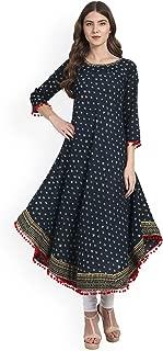 Dream Angel Fashion Womens Tunic Top to Wear with Leggings Kurta Kurtis Indian Party Wear