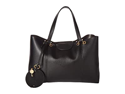 See by Chloe Marty Tote (Black) Handbags