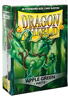 Arcane Tinman Sleeves: Dragon Shield Matte Apple Green (60), One Size