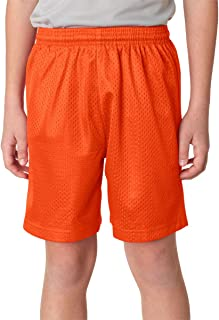 A4 Boy's Lined Tricot Mesh Shorts