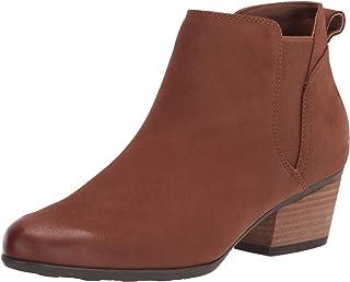 Blondo Women's Bootie Fashion Boot, Cognac Nubuck, 7.5