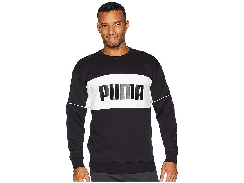 PUMA Retro Crew DK (Black) Men