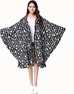 C&L 軽量クロークRaincoat?ポンチョ女性の大人の防水レインコート (色 : C)