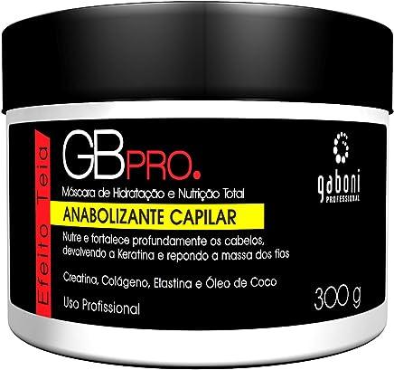 Máscara de Hidratação e Nutrição Total Anabolizante Capilar, Gaboni