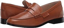 British Tan Burnished Leather Natural Stitch/Brown