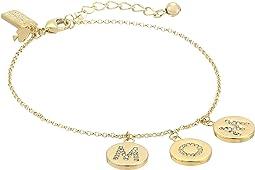 Kate Spade New York - Mom Knows Best Pave Mom Charm Bracelet