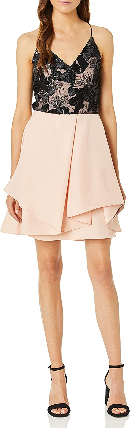 A. Byer Super special price Women's Strappy Dress Party Sweetheart Directly managed store