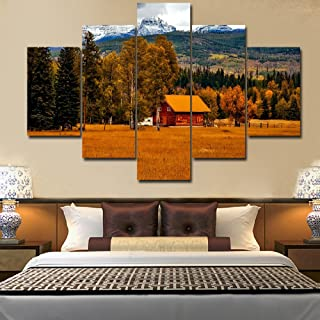 Best rustic log cabin paintings Reviews