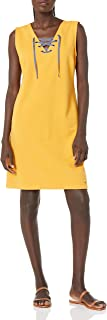 Tommy Hilfiger womens Tommy Hilfiger Tank Top Dress with Laceup Front Laceup Front Dress