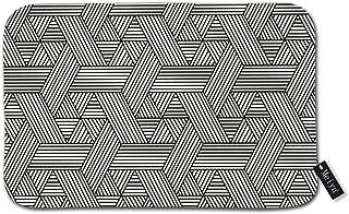 3d-design Seamless Hexagon Pattern in Rattan Style Personalized Custom Doormats Indoor/Outdoor Doormat Door Mats Non Slip ...