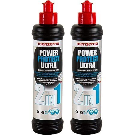 Menzerna 2x Power Protect Ultra 2in1 Hochglanzpolitur Lackversiegelung 250 Ml Auto