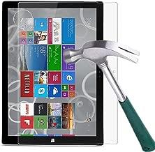Surface Pro 3 Screen Protector,TANTEK [HD-Clear][Anti-Scratch][Anti-Glare][Anti-Fingerprint] Tempered Glass Screen Protector for Microsoft Surface Pro 3 12 inch (2014),-[1Pack]
