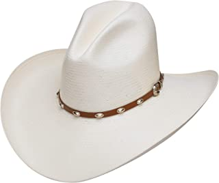 7 1//4 Stetson and Dobbs RSKNGT-3042 Mens Kingman Cowboy Hat Natural
