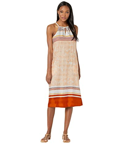 Prana Parisol Midi Dress (Peach Canopy) Women