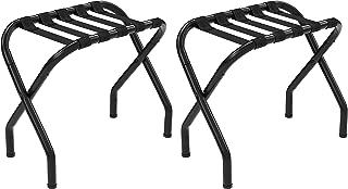 SONGMICS URLR64B-2 Luggage Rack, Black