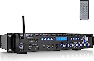Pyle Multi Channel Bluetooth Preamplifier Receiver Receiver-3000 Watt Audio Home Speaker Sound Stereo Radio, USB, Headphon...