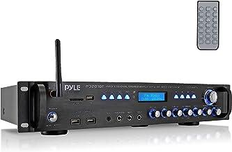 Pyle Multi Channel Bluetooth Preamplifier Receiver Receiver-3000 Watt Audio Home Speaker Sound Stereo w/Radio, USB, Headph...